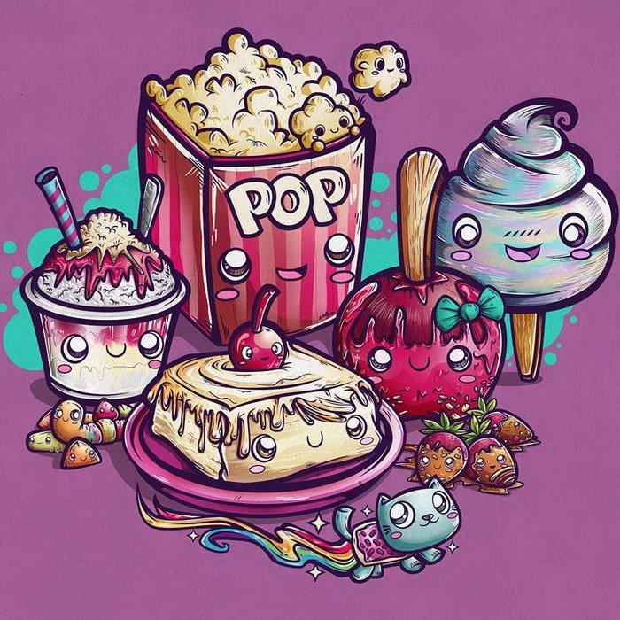 Яркие и стильные иллюстрации, посвященные героям поп-культуры
