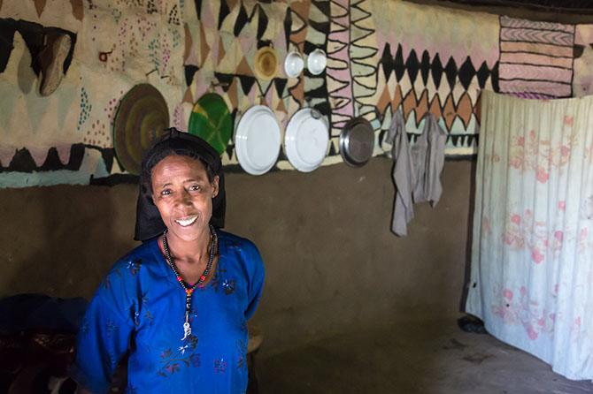 Жизнь силте в эфиопской деревне
