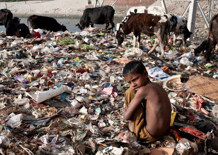 Жуткий быт жителей Бангладеша