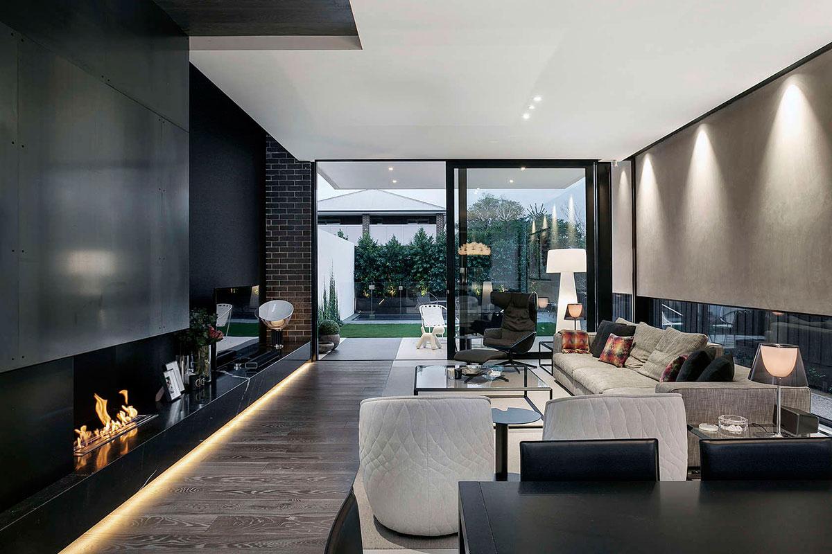 Дизайн современного частного дома Caroline