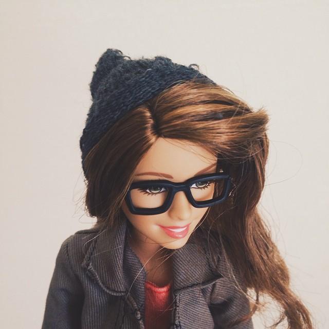 Instagram современной куклы Барби