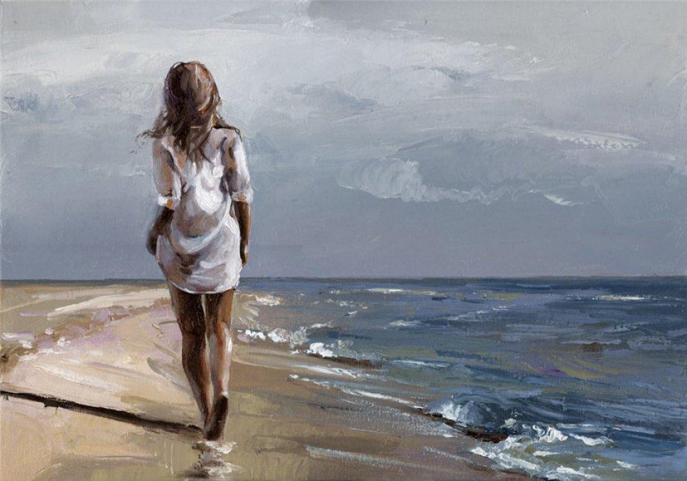 Женская фигура и нежность