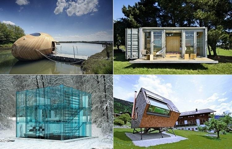 10 креативных домиков небольшого размера