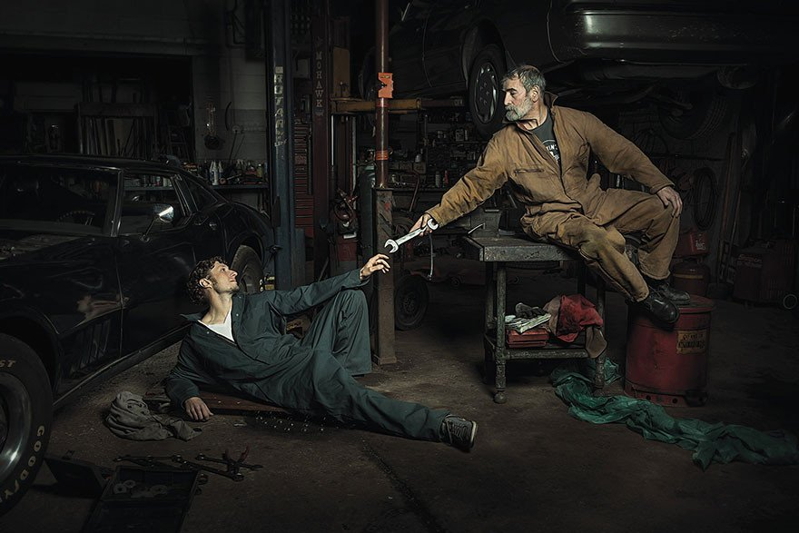 Автомеханики помогли воссоздать картины эпохи Возрождения