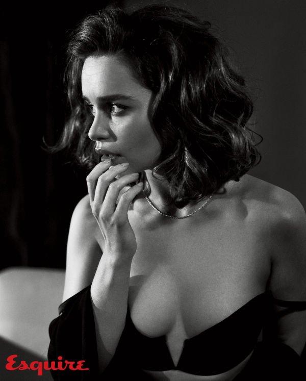 Эмилия Кларк из сериала Игра престолов в фотосессии для журнала Esquire