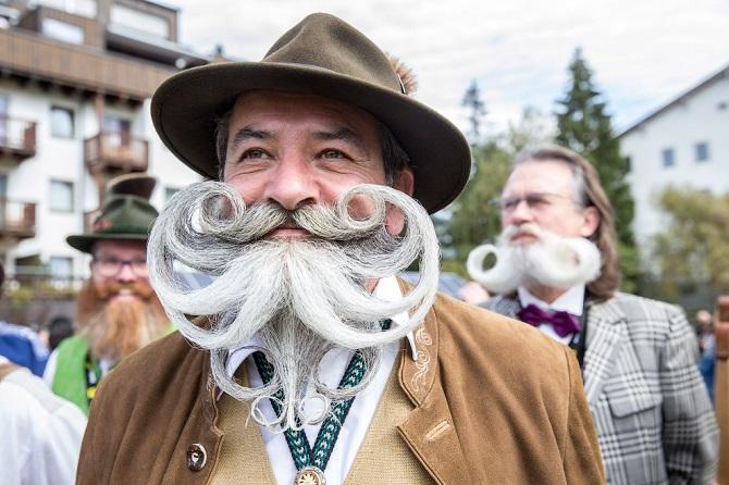Фантастические бороды на Чемпионате по бородам и усам 2015 в Австрии