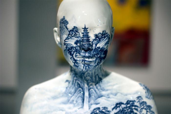 Фарфоровые бюсты от Ah Xian