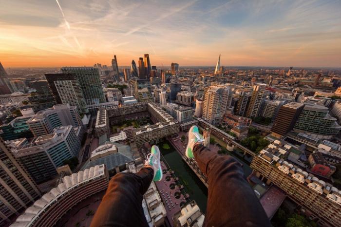 Фотографии с крыш Лондона