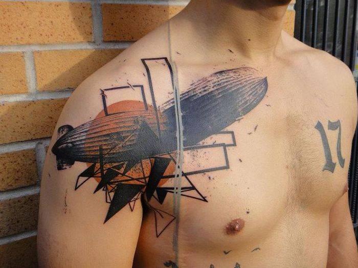 Невероятные гипердетализированные татуировки от Xoil