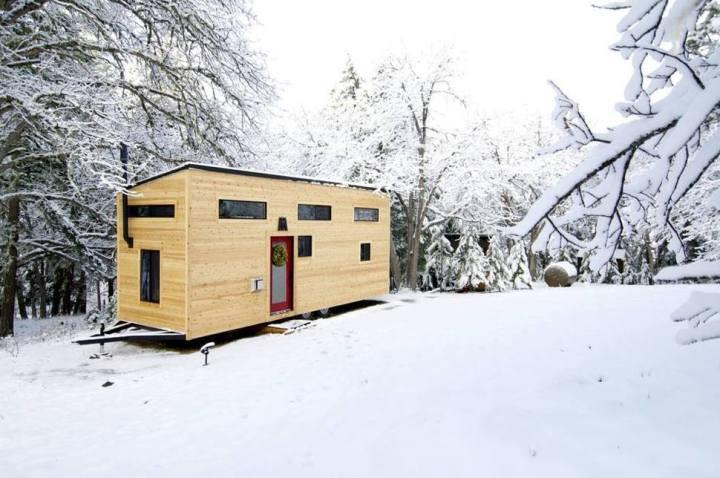 Пара построила крошечный дом своей мечты
