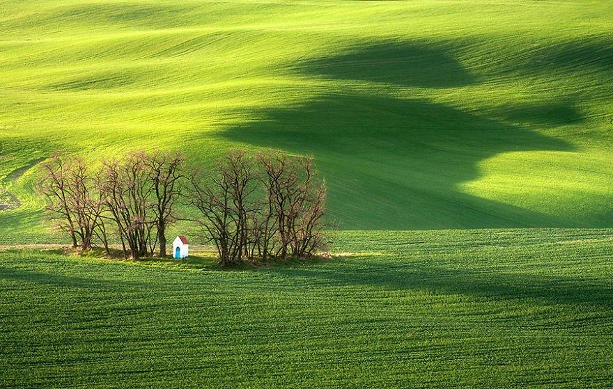 Потрясающая красота Моравии на фотографиях Марчина Собаса