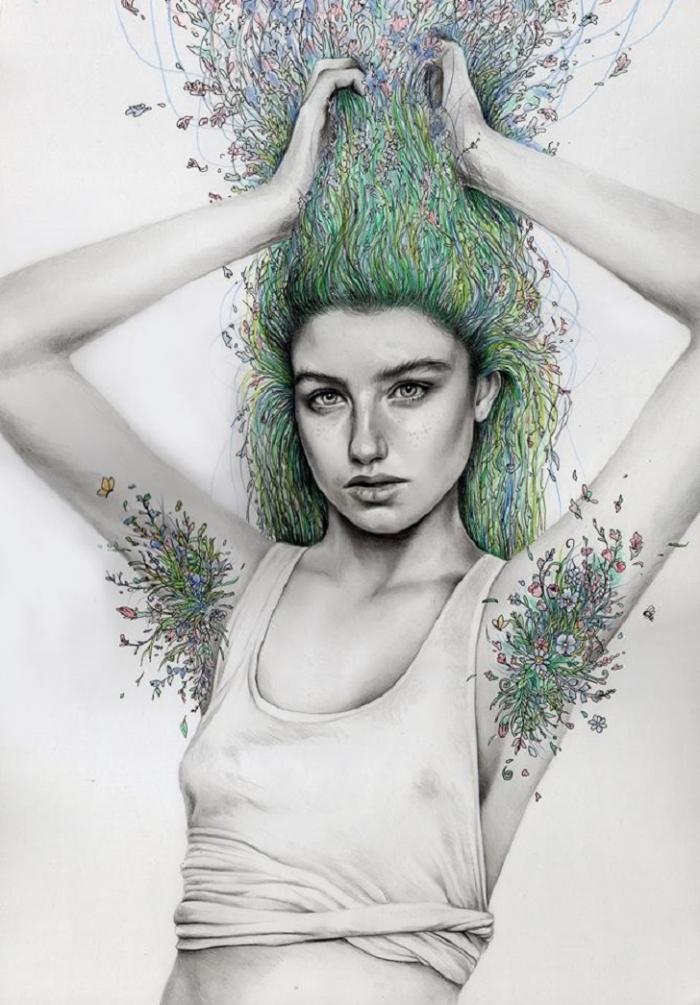 Рисунки карандашом от Кейт Пауэлл
