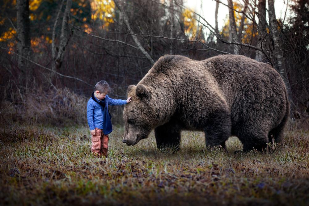 Сюрреалистический мир детских чудес на фотографиях