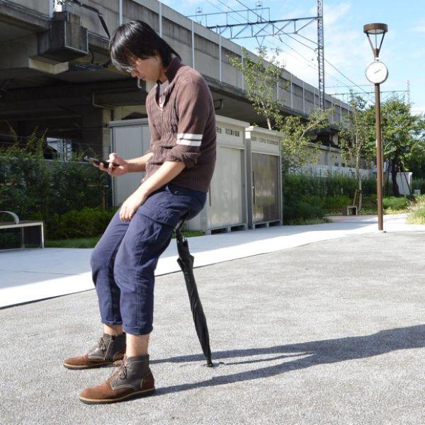 Зонтик-стул от японских инженеров