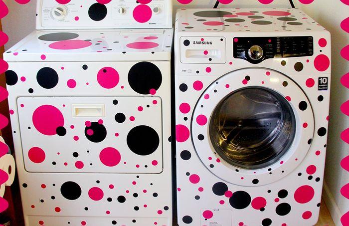 9 советов, как украсить стиральную машину