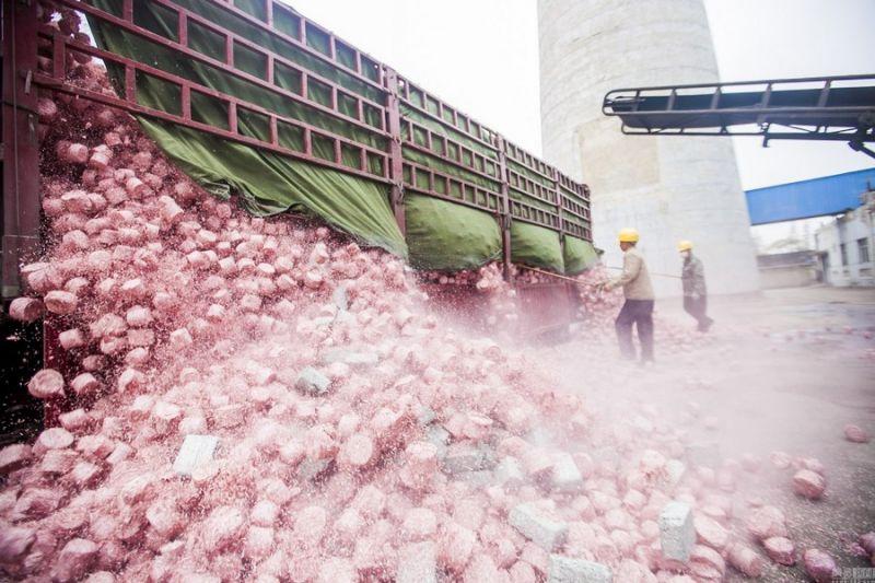 Китайская ТЭЦ использует деньги в качестве сырья