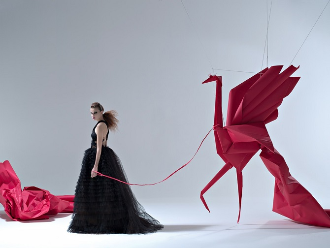 Потрясающие бумажные фигуры от Мауро Сересини