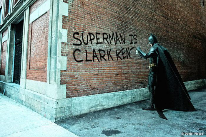 Повседневная жизнь супергероев от Даниэля Пикара