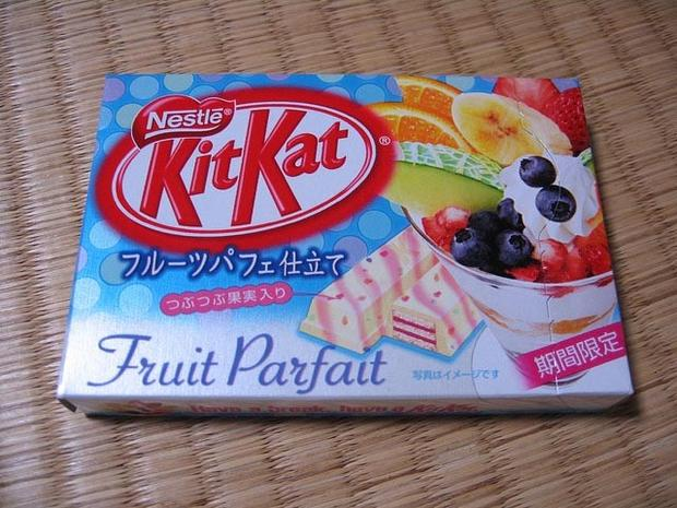 Шоколадки Kit Kat, которые вы не пробовали