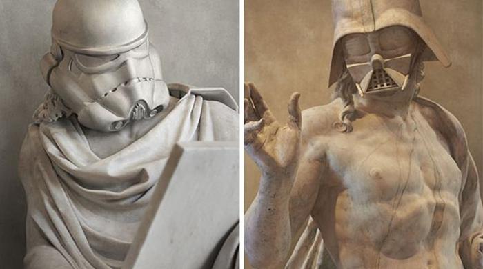 Звездные войны в греческом стиле