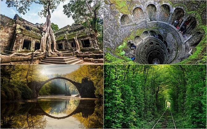 20 поистине сказочных мест со всего мира