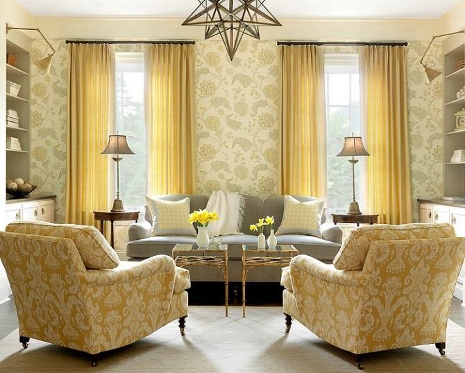 20 практичных идей для украшения интерьера комнат красивыми шторами