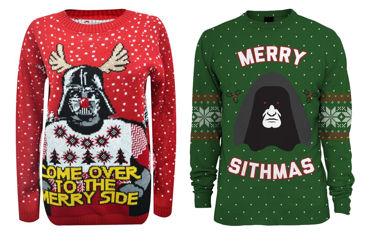 23 рождественских свитера для фанатов Звездные войн