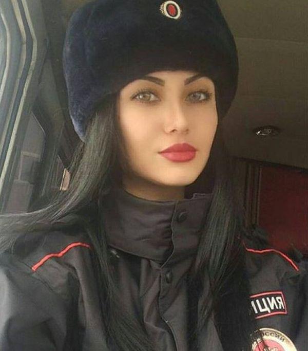 Красивые девушки из силовых структур России