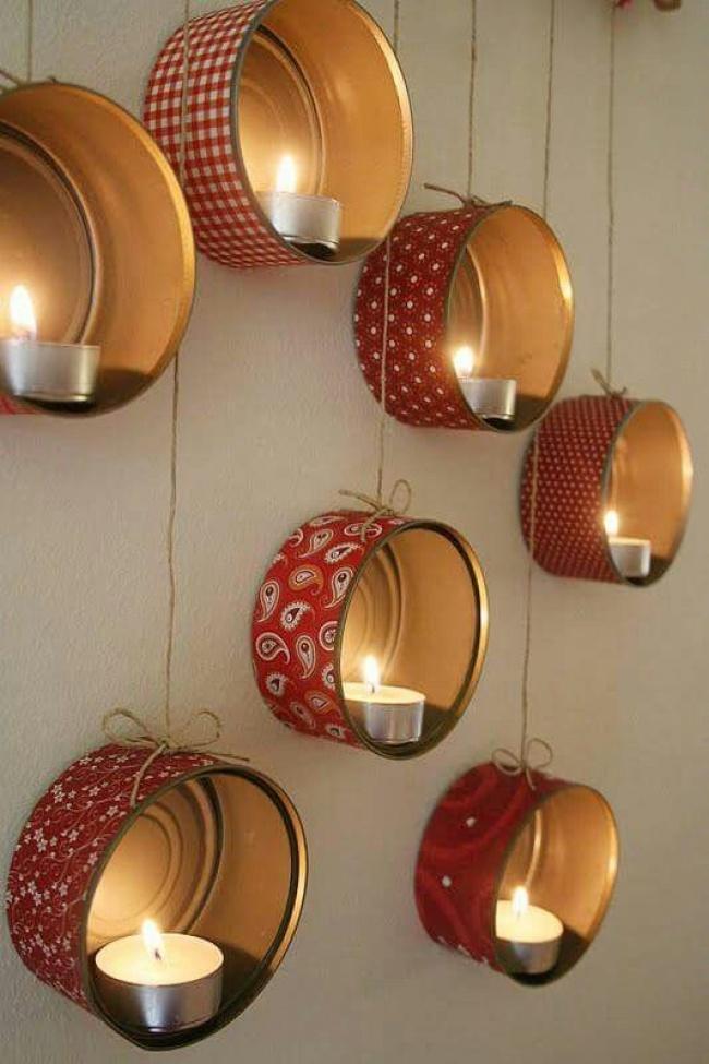Креативные новогодние украшения, которые можно сделать своими руками