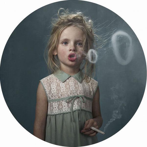 Курящие дети — как родители влияют на поведение своих детей