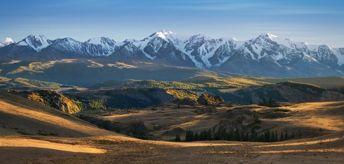 Нетронутые человеком красоты природы в России