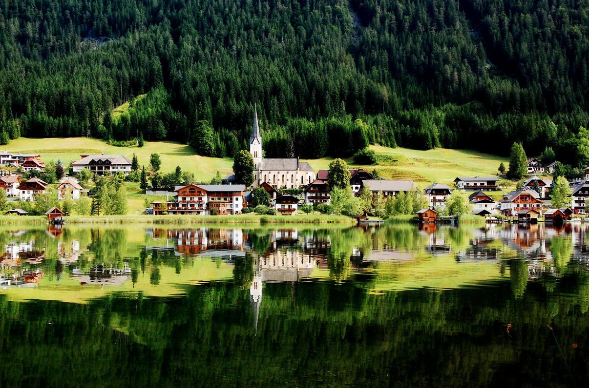 Озеро Вайсензее — австрийский уголок гармонии