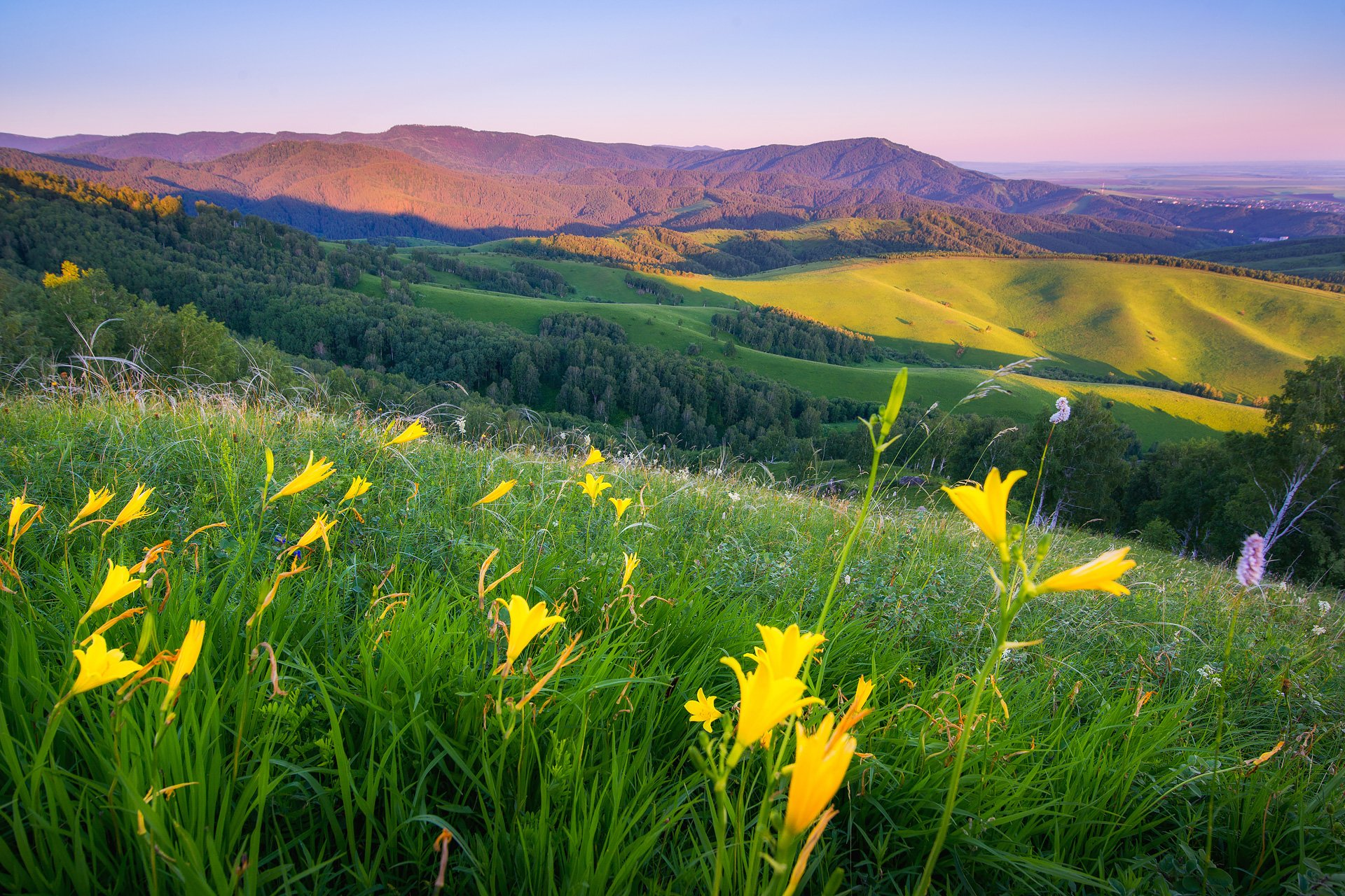 Пейзажи Алтайского края