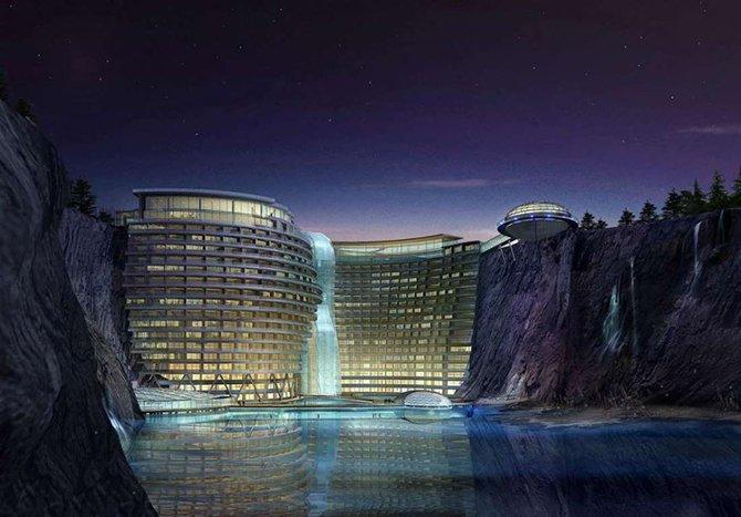 Проекты 9 самых необычных отелей