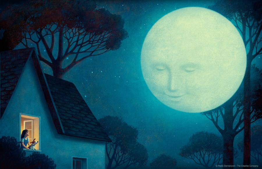 Волшебные иллюстрации от Паоло Доменикони, в которых хочется затеряться