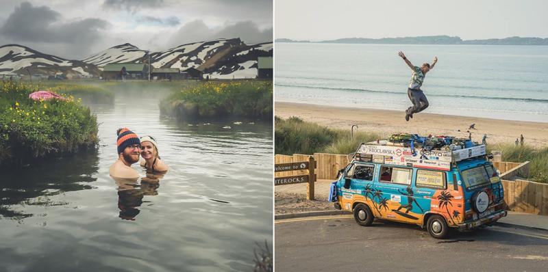 Блогеры из Польши объехали более 50 стран на старом фургоне