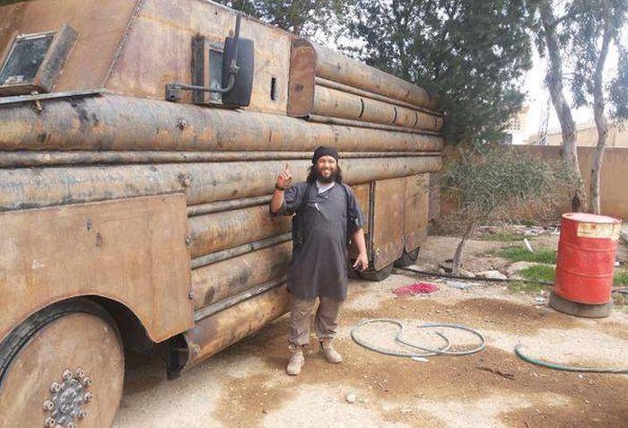 Самодельные бронемашины с Ближнего Востока