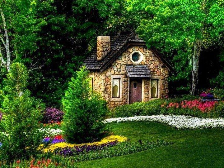 Сказочные уютные домики