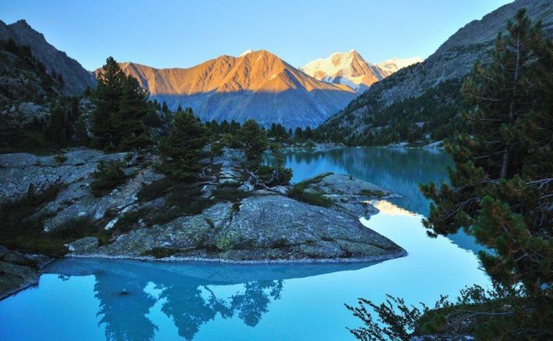 Катунский биосферный заповедник в высокогорьях Центрального Алтая