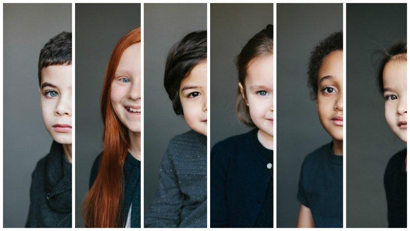 Красота детей смешанных кровей