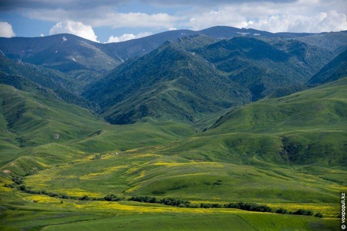 Красота природы Казахстана с высоты птичьего полета