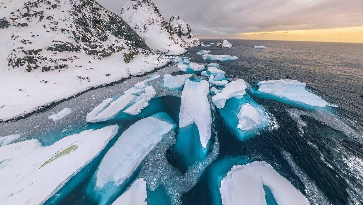 Лучшие зимние аэрофотопанорамы из разных уголков мира