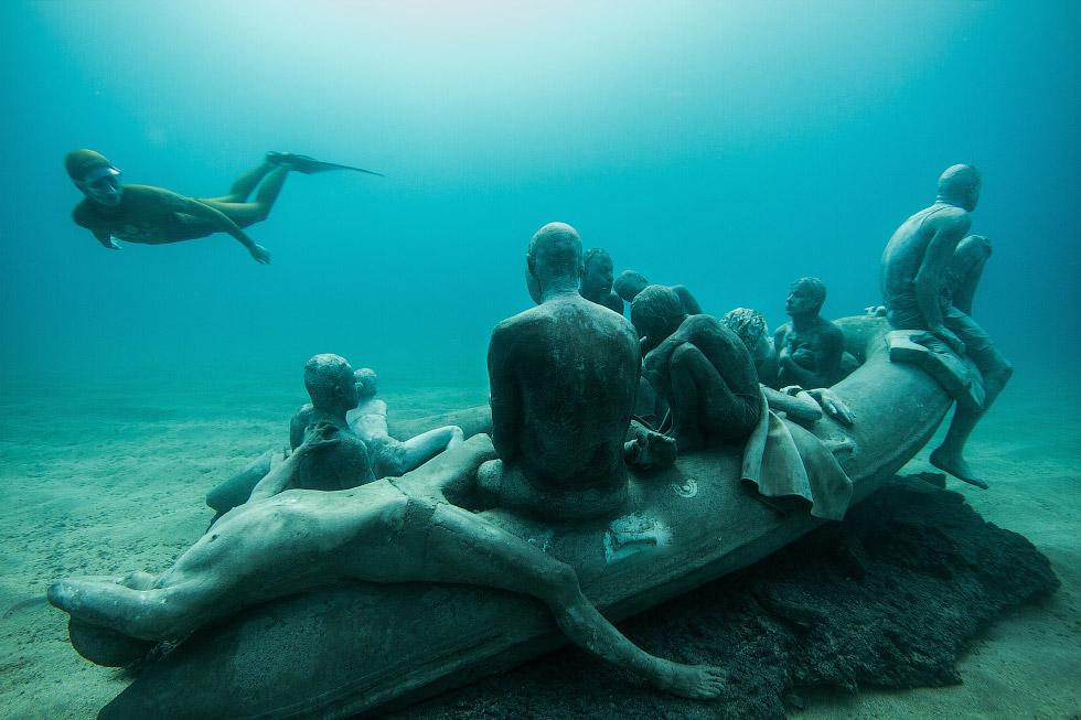 Первый подводный музей в Европе