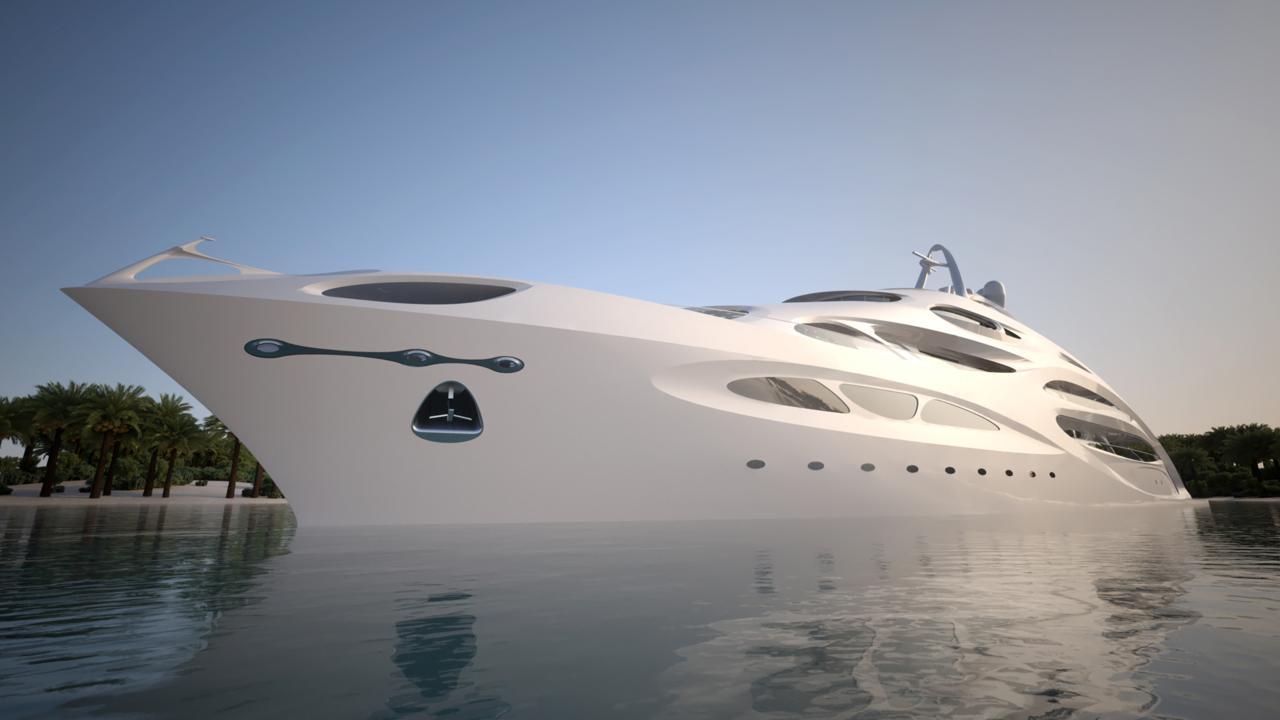 Шикарные яхты будущего