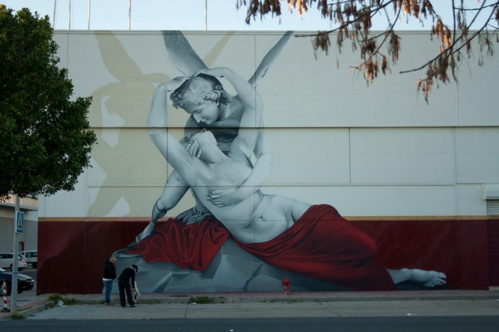Тема любви в уличных рисунках по всему миру