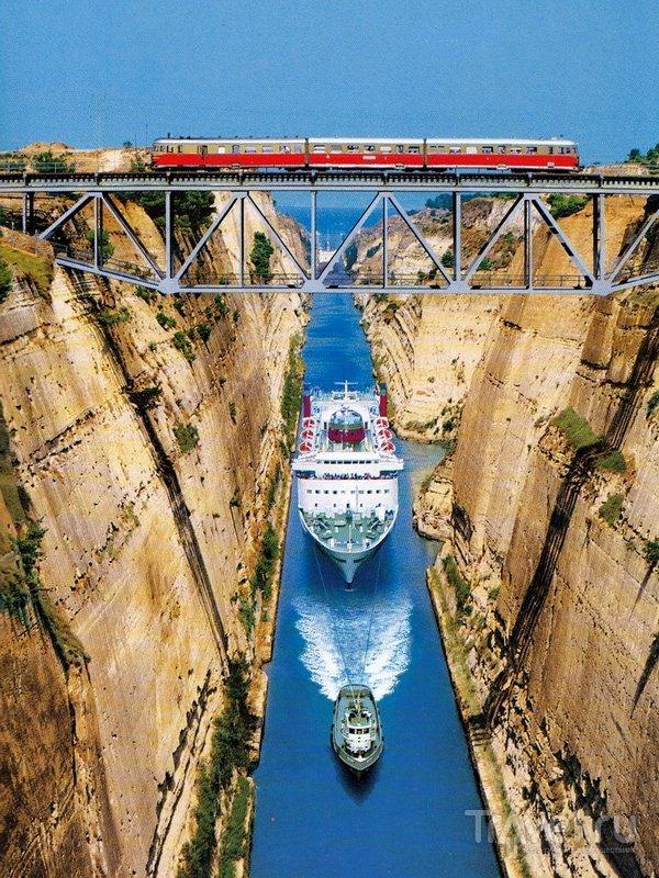 Удивительный канал в Греции