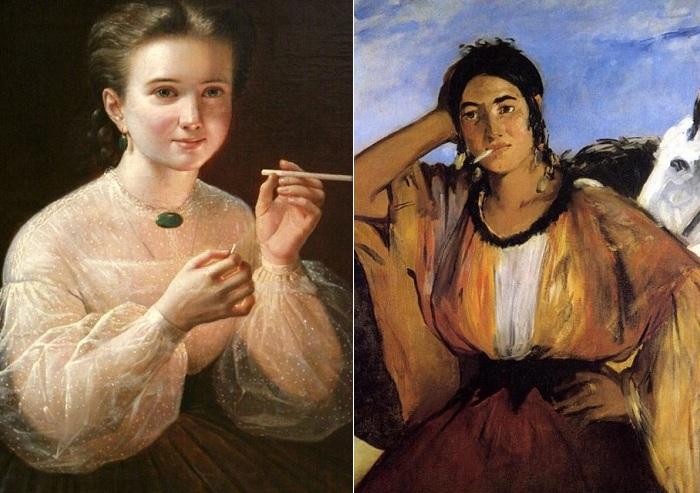 Вредные картины известных художников