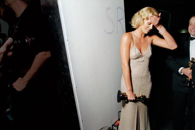 За кулисами церемонии Оскар на фотографиях прошлых лет