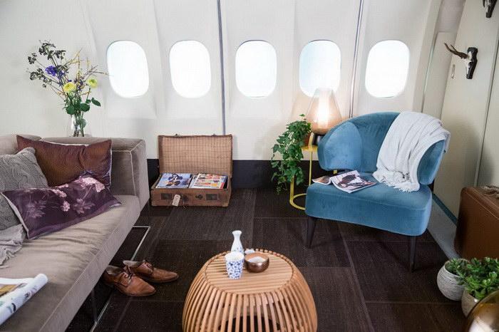 Жилье для любителей путешествий в самолете