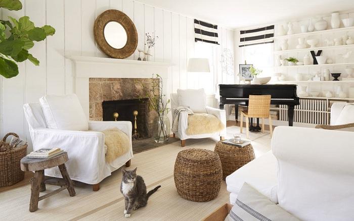 16 ярких и интересных идей для оформления гостиной
